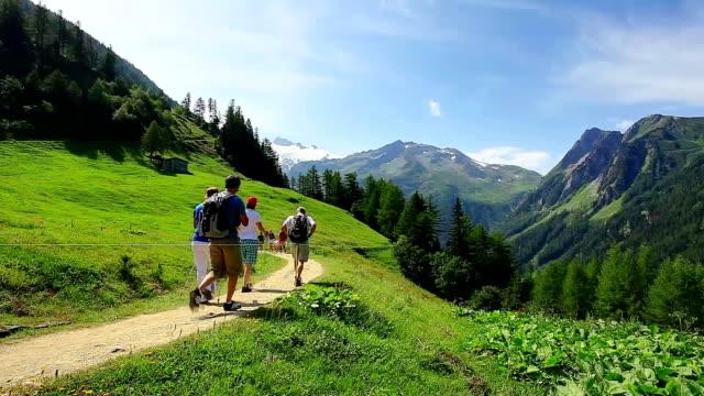 Trail in Swiss Alps