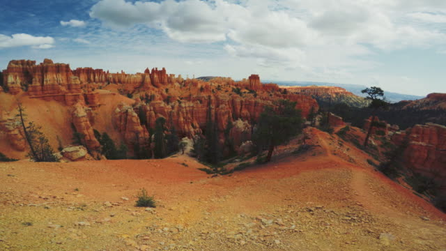 POV trail running in Bryce Canyon National Park, een boo trail Peek