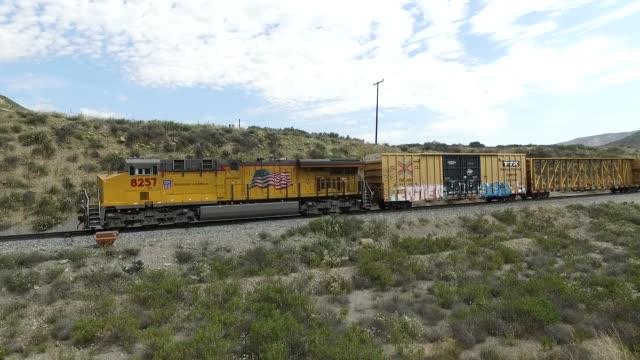 train aerial northbound