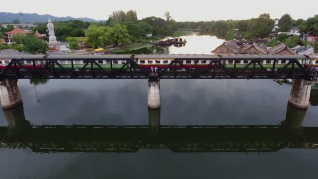 De aanpak van de trein aan de brug
