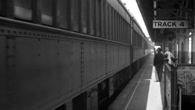 a train arrives at the 125th street station in new york city in 1937. - 1937 stock videos & royalty-free footage