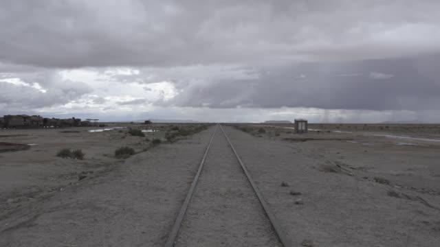 Train cemetery in Uyuni, Bolivia.