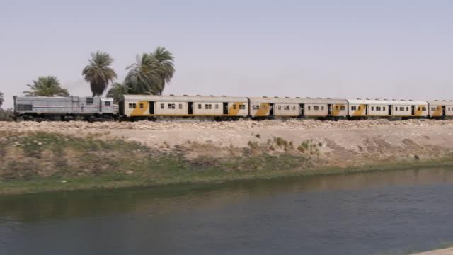vidéos et rushes de train, egypte - égypte