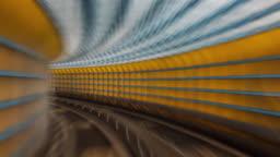 POV Train Hyperlapse - Taipei Timelapse