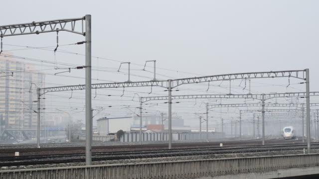北京を鉄道します。 - 高速列車点の映像素材/bロール