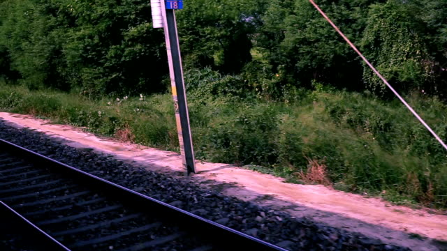 train in high motion - high point video stock e b–roll