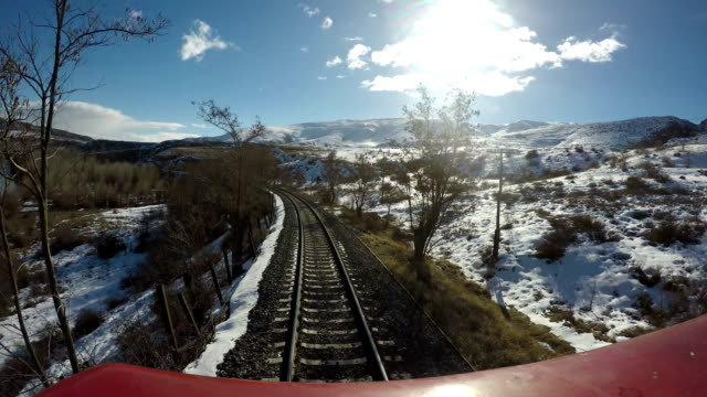 train journey at eastern anatolia - anatolia stock videos and b-roll footage