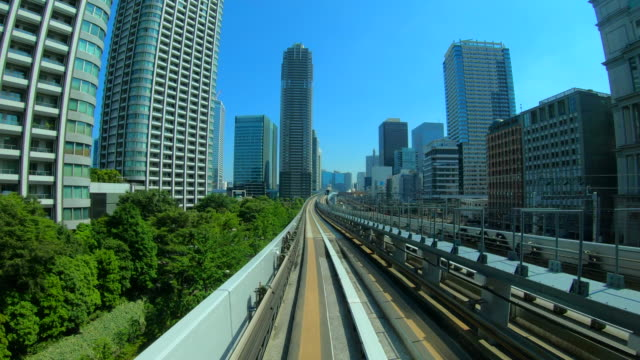 train moving in tokyo, japan - subway station stock videos & royalty-free footage