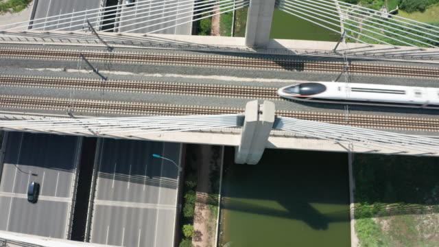 train on railroad - steel stock videos & royalty-free footage