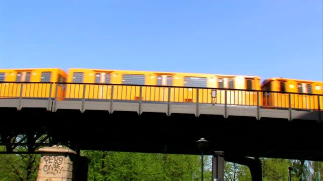 "Train on the ""Oberbaumbrücke"" in Berlin"