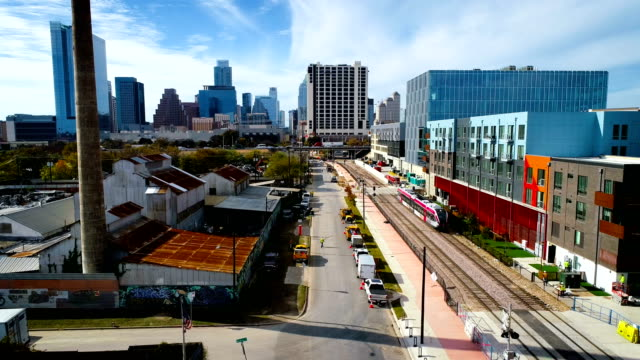 stockvideo's en b-roll-footage met trein langskomen in austin texas - austin texas