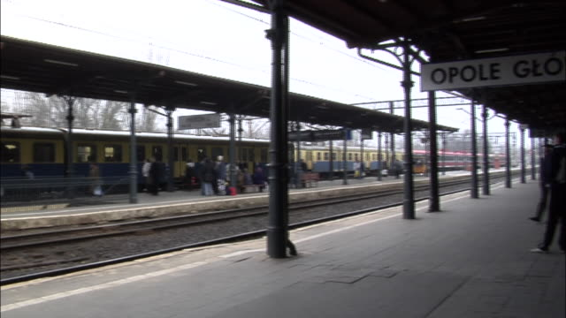 MS, PAN, Train platform, Opole, Poland