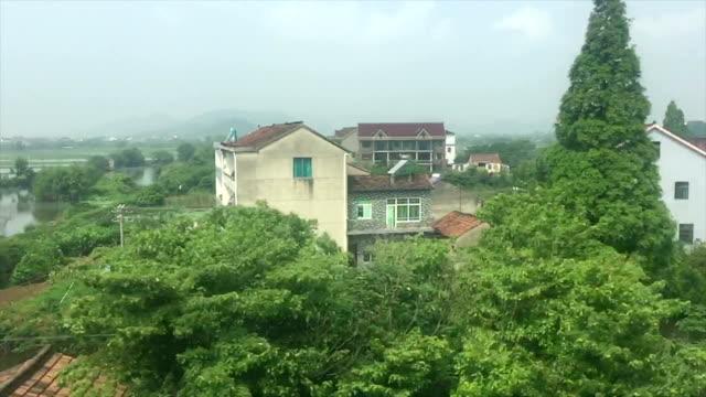 Zug-Sicht der China Landschaft Landschaft, Real-Time.