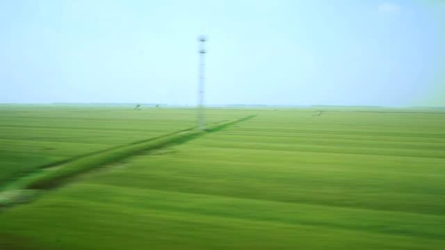 point de vue de la Chine, paysages champêtres, en temps réel.