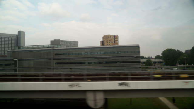 train ride in modern holland - classified ad stock videos & royalty-free footage