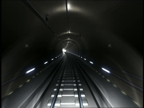 pov train riding in tunnel - underground train stock videos & royalty-free footage