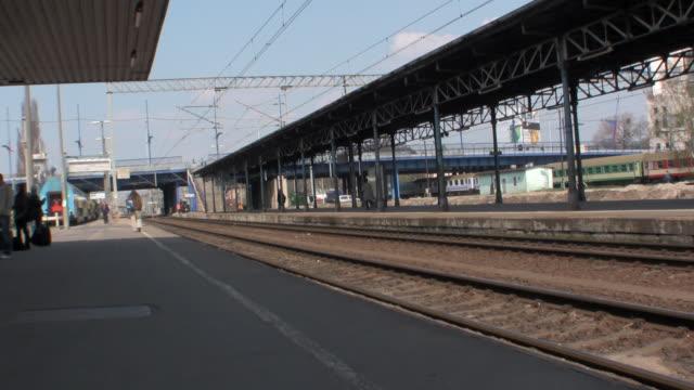 WS Train station at Poznan Glowny / Poznan, Wielkopolska, Poland