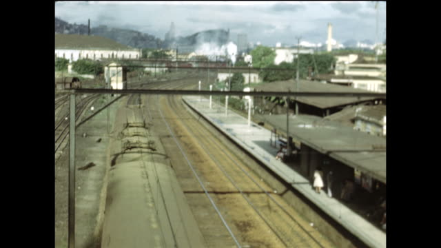 train station in rio de janeiro. - 1940 stock videos & royalty-free footage