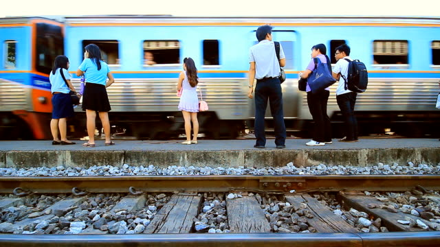 train thailand - french culture stock videos and b-roll footage
