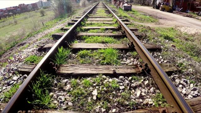 train tracks - shunting yard stock videos & royalty-free footage