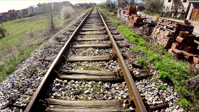 train tracks - shunting yard stock videos and b-roll footage