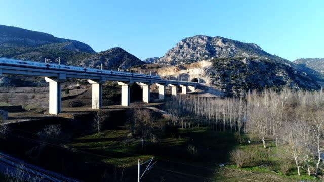 train & tunnel - 1 - turkey stock videos and b-roll footage