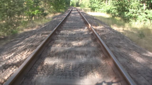 train - railroad track stock videos and b-roll footage