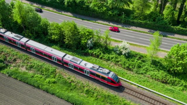 VUE AÉRIENNE: Train