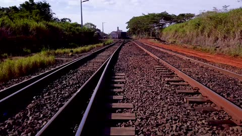 train wagon moving on train track. - railway station stock videos & royalty-free footage