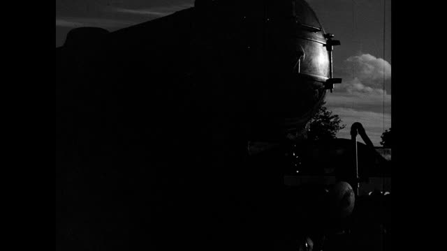 1942 Train yard at dawn
