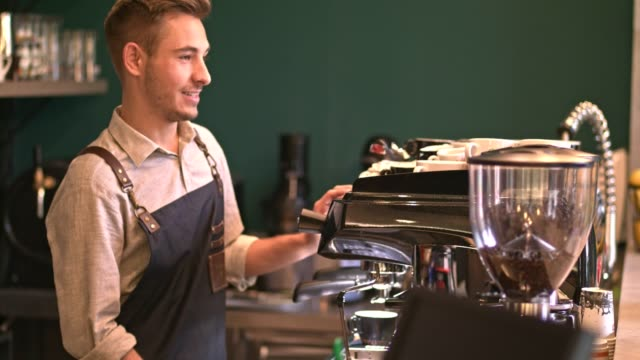 Training barista skills