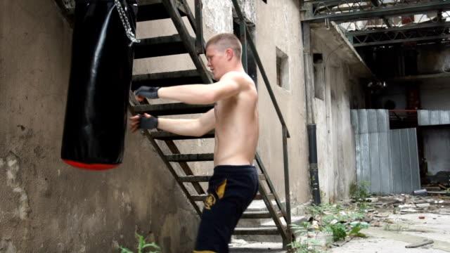 Ausbildung-Hard mit Boxsack