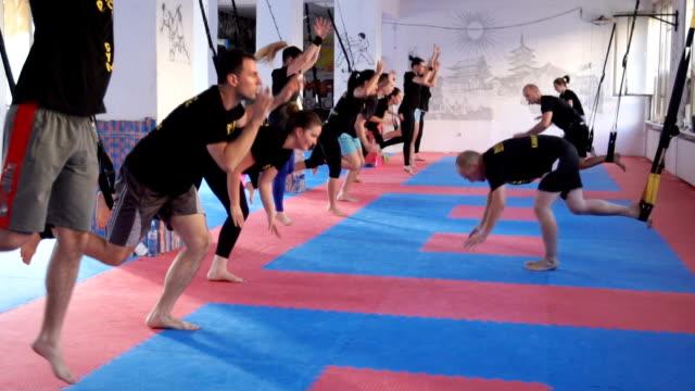 TRX träning i gym