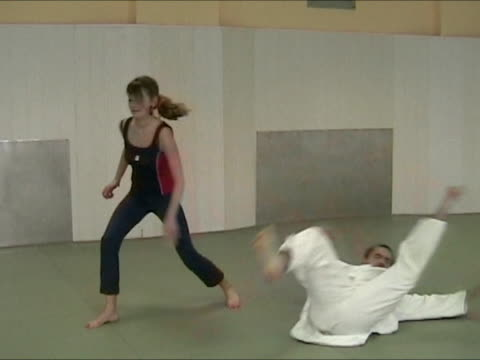 Trainning judo