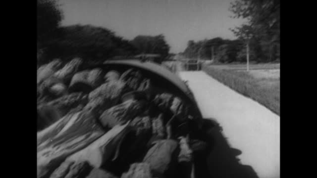 trains carrying imperial japanese military officers and soldiers travel through thailand during world war ii - rail transportation stock videos and b-roll footage
