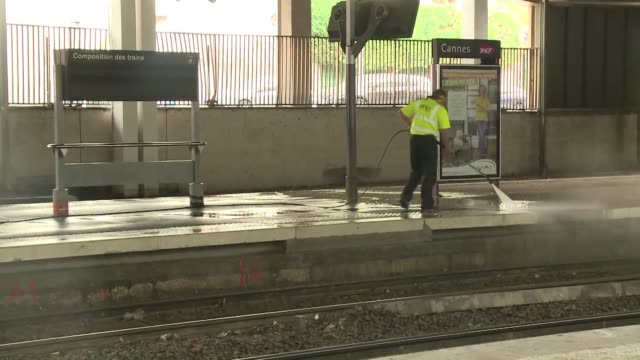 trains in southern france will not run normally before the weekend authorities said on tuesday after floods in the region that killed 20 people - 2015 stock videos & royalty-free footage