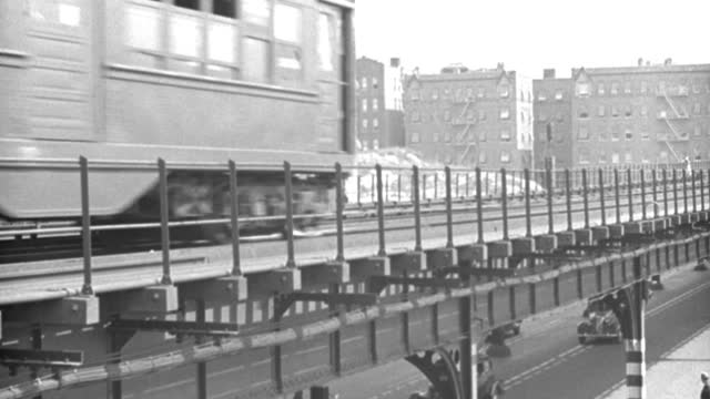 trains travel through new york city. - video stock videos & royalty-free footage