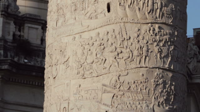 Trajan Roman Triumphal Column Details