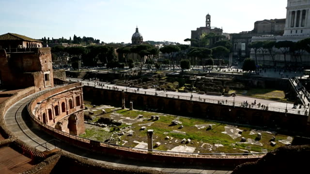 Trajan's Markets and Forum in Rome