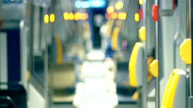 Die Straßenbahn innen