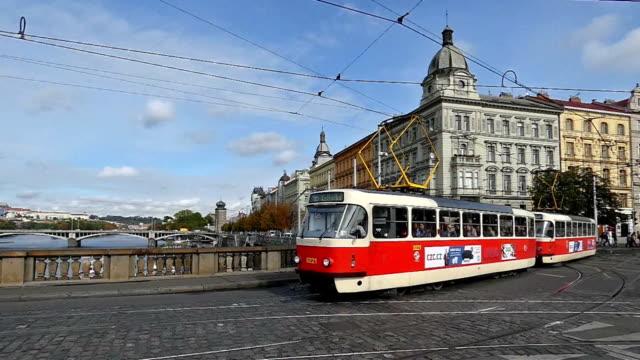tram - hradcany castle stock videos & royalty-free footage