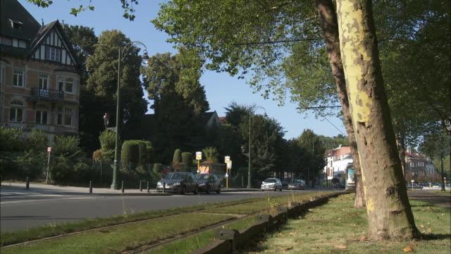 vídeos y material grabado en eventos de stock de tram - vía de tranvía