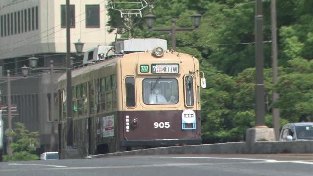 Trams In Hiroshima