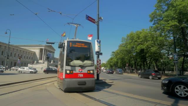 Trams near Parliament Building