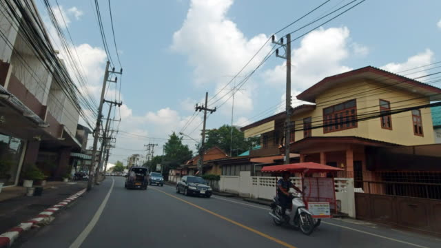 stockvideo's en b-roll-footage met trang city, thailand stuur proces plaat ddrivers point of view - trang province
