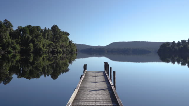 tranquil lake. - sustainable tourism stock videos & royalty-free footage