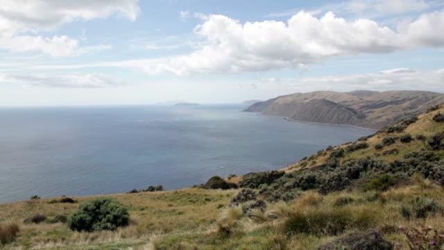 tranquil scene of a beautiful landscape - 丘点の映像素材/bロール
