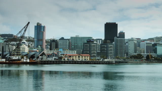 Tranquil View of Wellington Waterfront