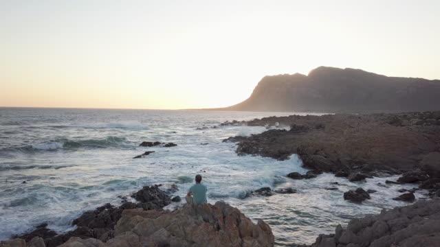自然の中の静けさ - ケープ半島点の映像素材/bロール