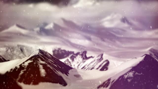 transantarctic mountains. ross sea. antarctica - ross sea stock videos & royalty-free footage
